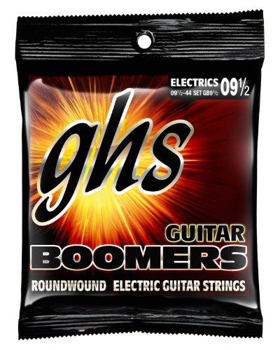 GHS Strings Electric Guitar Boomer Set (9 1 2) by GHS