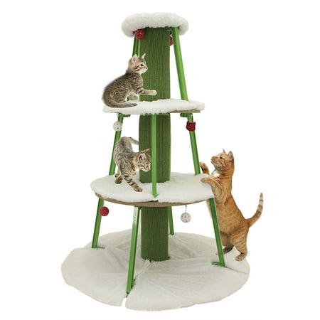 Cat Christmas Tree Scratcher ()