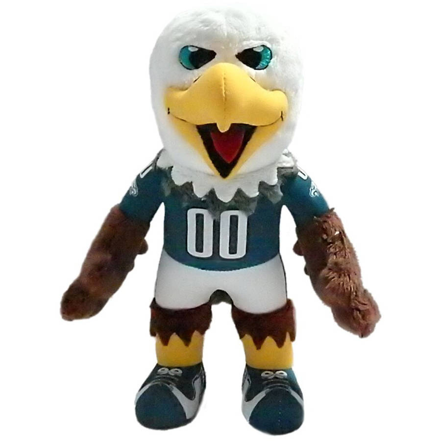 Philadelphia Eagles Swoop 10 Plush Mascot Walmart Com