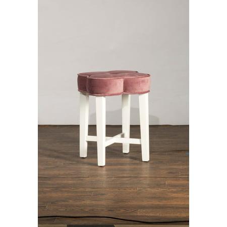 Hillsdale Furniture Clover Vanity Stool Walmart Com
