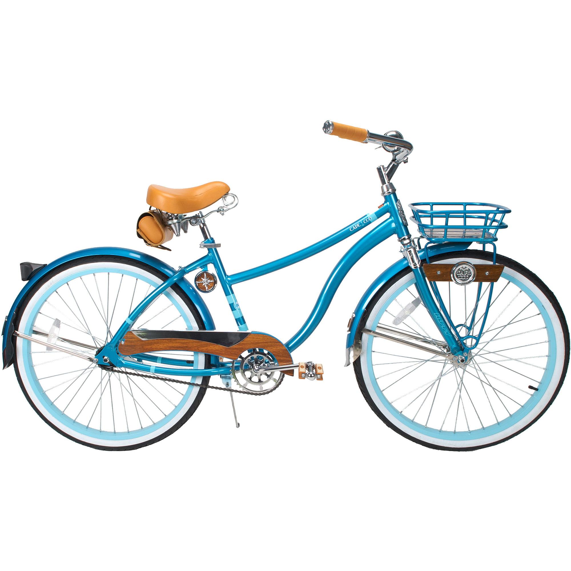 "26"" Huffy Cape Cod Women's Cruiser Bike, Metallic Aqua"