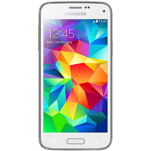Samsung Galaxy S5 Mini G800F 16GB 4G LTE GSM Android Smartphone (Unlocked), White