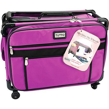 TUTTO Machine On Wheels Case, Purple (Tutto Xl Sewing Machine Case)