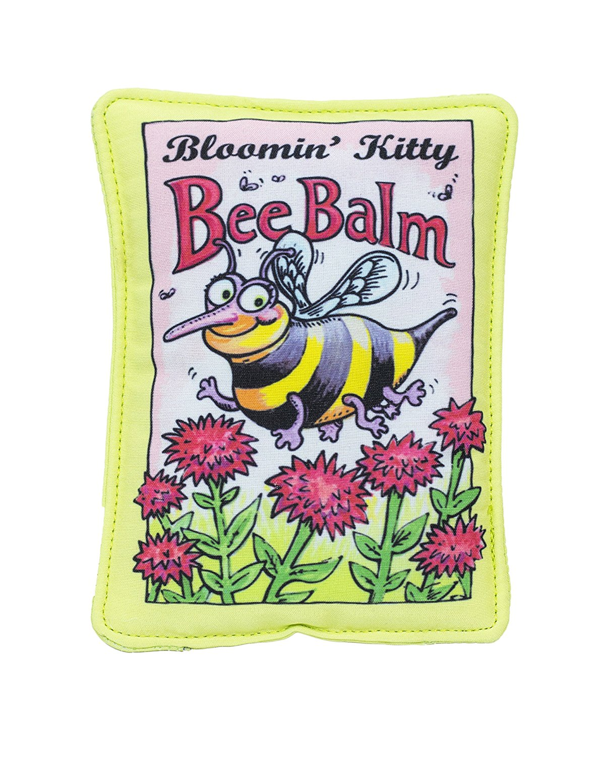 Bloomin ' Kitty Bee Balm�Seed Packet Cat Toy by Fuzzu