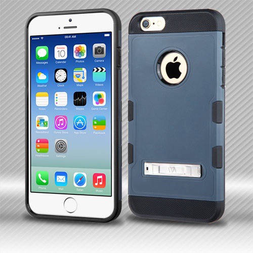 Apple iPhone 6/6S MyBat TUFF Trooper Hybrid Protector Cover with Stand