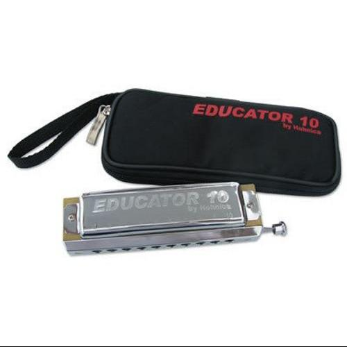 Hohner Educator 10 Chromatic Harmonica - Key of C