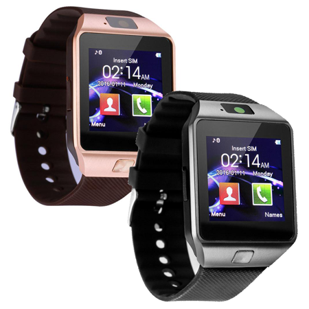 ceaafe728 2-Pack Bluetooth Smartwatches for Android   iPhone