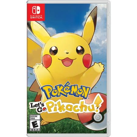 Pokemon: Let's Go, Pikachu!, Nintendo, Nintendo Switch, 045496593940