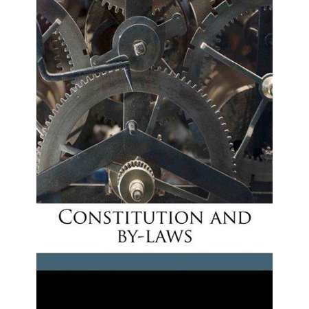 Constitution and By-Laws - image 1 of 1