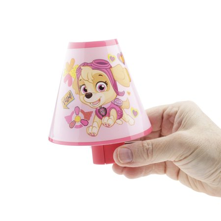Nickelodeon Girl Paw Patrol Skye Pink, Led Plug-In Night-Light