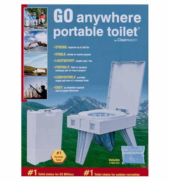GO Anywhere Toilet