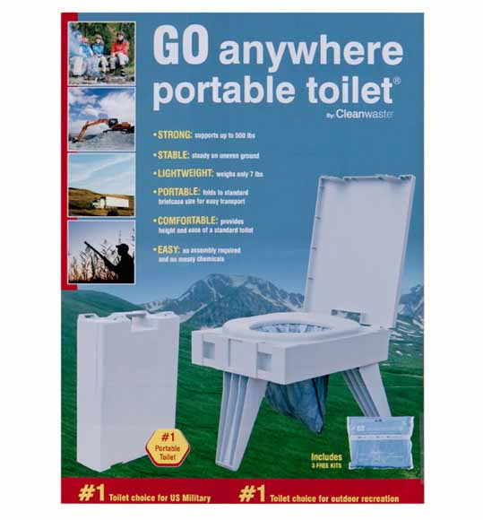 GO Anywhere Toilet