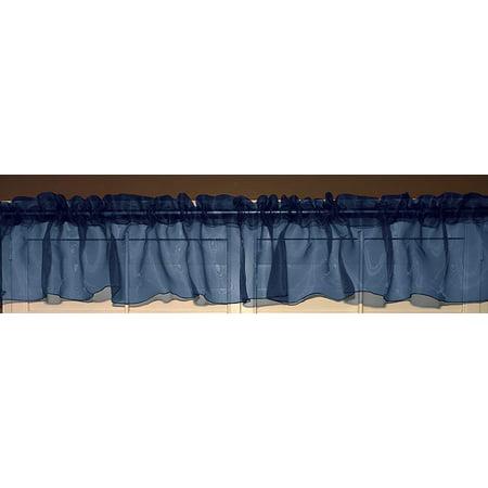 Sheer Organza Curtain/Valance Window Treatment