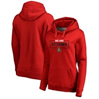 Ottawa Senators Fanatics Branded Women's Iconic Collection We Are Pullover Hoodie - Red