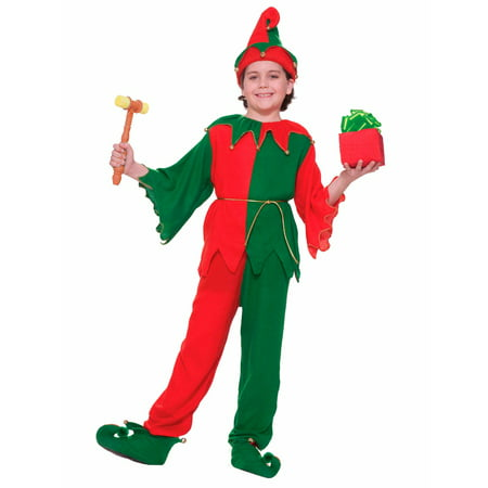 Childrens Santa's Elf Costume (Childrens Wolf Costumes)