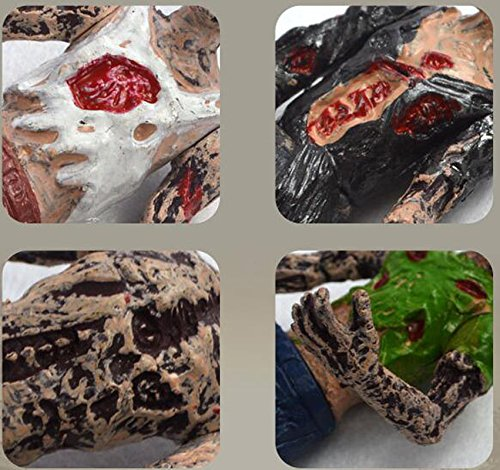 vrupi Walking dead horror zombie film modello popolare tappetino resistente antiscivolo tappetino dingresso rettangolare tappeto bagno hotel toilette per casa tappetino in 40 60cm