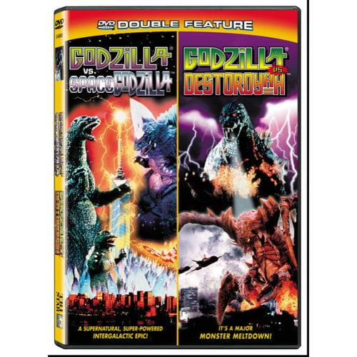 Godzilla Vs. Spacegodzilla / Godzilla Vs. Destoroyah (Widescreen)