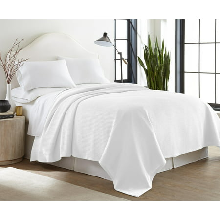 Sun Yin Thermal King Cotton Bed Blanket in White ()
