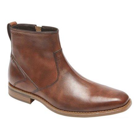 Men's Rockport Traviss Zip Boot - Bernard Boots