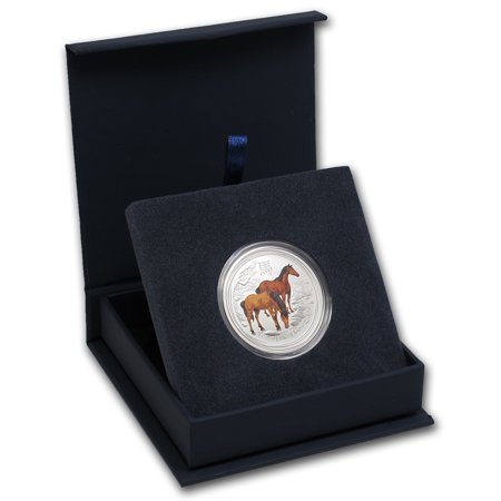 APMEX Gift Box - 1/2 oz Perth Mint Silver Coin Series 2 Hammered Silver Coins