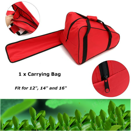 Chainsaw Bag Saw Carry Case Protective Holdall Chain Saw Box for 12'' 14'' 16'' Chainsaw Parts and Accessories