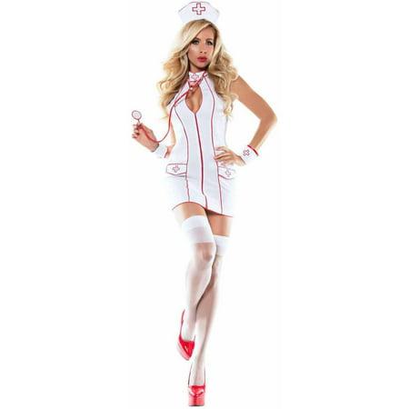4030481a953ac Frisky Nurse Women's Adult Halloween Costume - Walmart.com