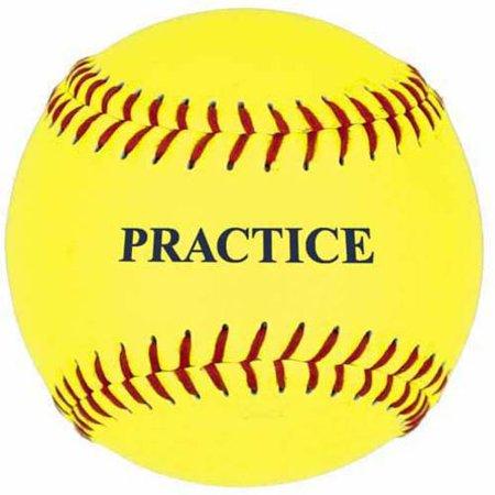 11 Practice Softball (11'' Yellow Practice Softball)