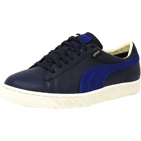 848d7067580f Puma Men s Basket Gtx Peacoat   Mazarine Blue Ankle-High Leather ...