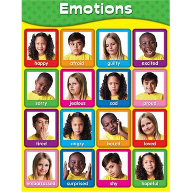 Carson Dellosa Cd-114055 Chartlets Emotions