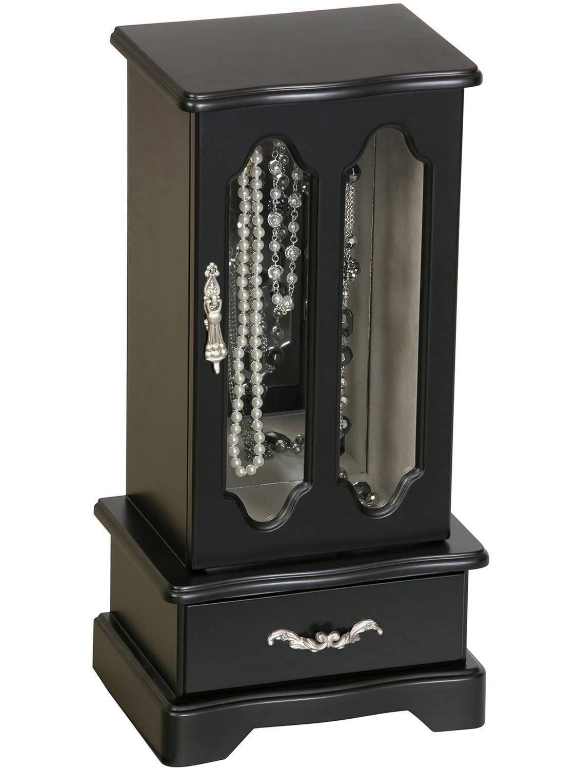 Townsend Wooden Jewelry Box, Java Finish