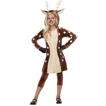 - Girls Fawn Costume