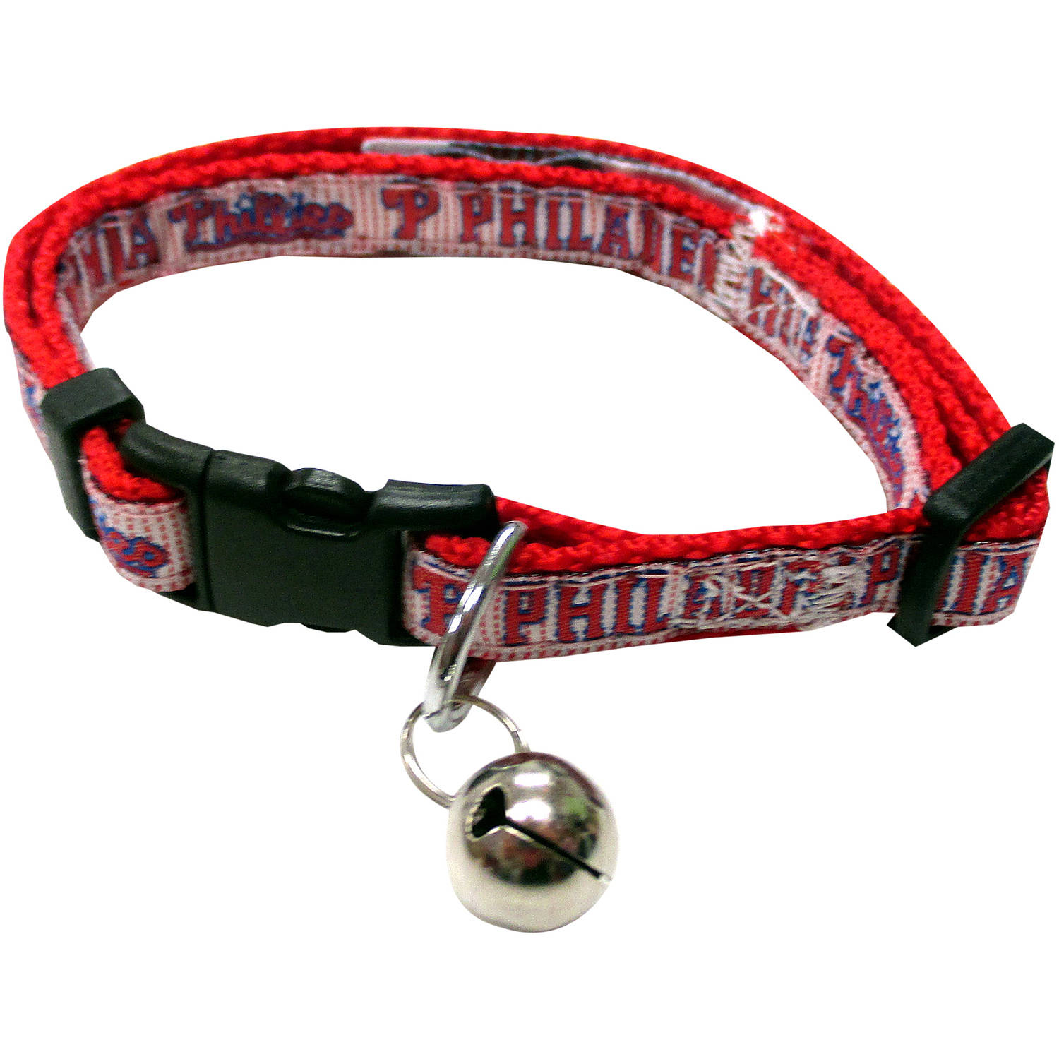 Pets First MLB Philadelphia Phillies Cat Collar