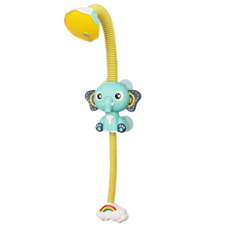 FANNI Baby Bath Toys Electric Elephent Animal Sucker Electric shower Rain Head - image 1 of 10