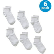 Danskin Ultralite Ultra Thin Ankle Socks, 6 Pack