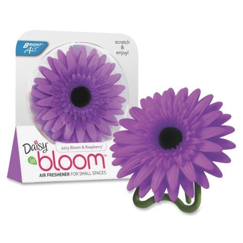 Bright Air Bloom Daisy Air Freshener - 2.30 Oz - Juicy Bloom, Raspberry - 60 Day (BRI900121)