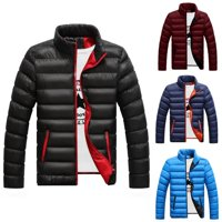 Emmababy Mens Winter Warm Padded Down Jacket Ski Jacket Deals