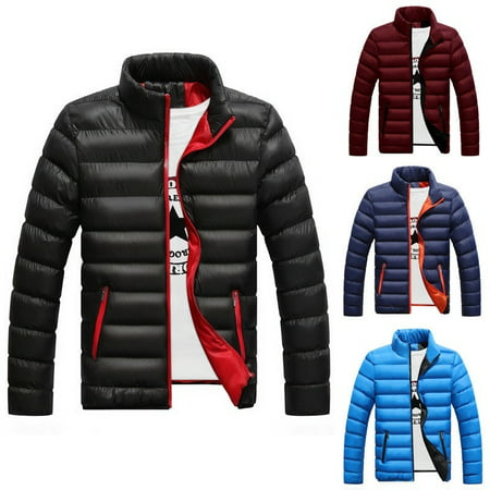 Men´s Winter Warm Padded Down Jacket Ski Jacket Snow Coat Climbing (Youth North Face Ski Jacket)