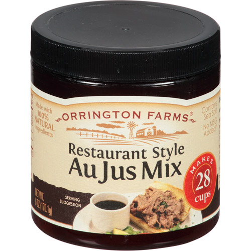 Orrington Farms Restaurant Style Au Jus Mix, 6 oz, (Pack of 6)