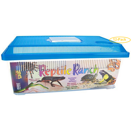 Lees Reptile Ranch Small - 15L x 9W x 6H - Pack of -