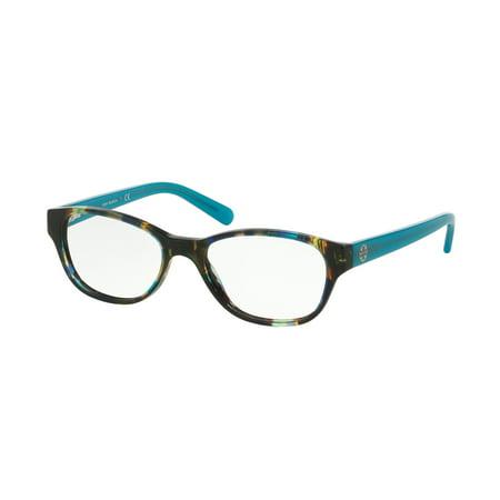 Tory Burch Eyeglasses Ty 2031 3153 Blue Brown Tortoise Blue Lark 51Mm