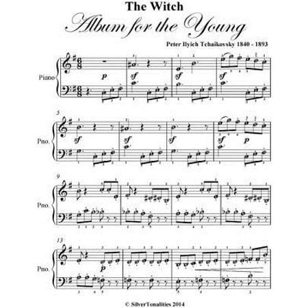 Witch Album for the Young Opus 39 Number 20 Easy Piano Sheet Music Pdf - eBook