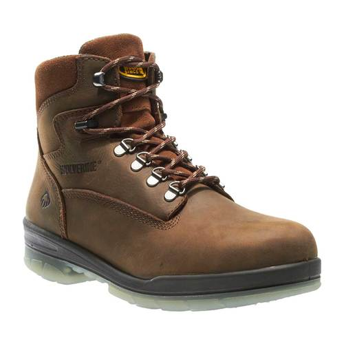 "Wolverine Men's DuraShocks® Waterproof Insulated Steel-Toe 8"" Work Boots"