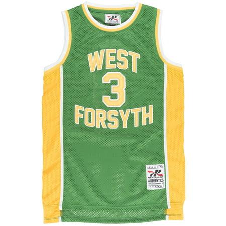 7e85405b4 Chris Paul West Forsyth High School  3 Jersey Basketball Mesh CP3 Green  Headgear - Walmart.com