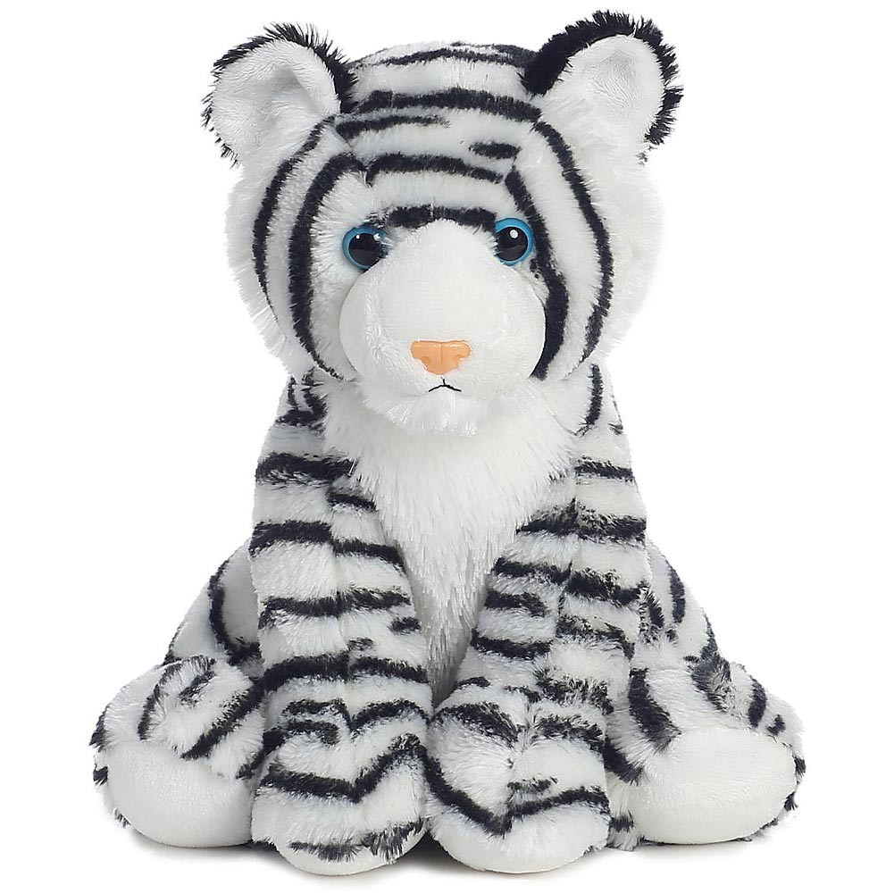 White Tiger Cub Stuffed Toy