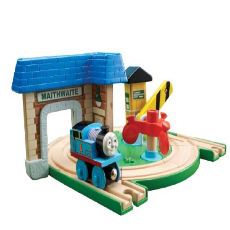 Thomas And Friends Wooden Railway - Early Engineers Round About Station