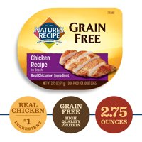 Nature's Recipe Grain Free Wet Dog Food, 12 pack (Various Flavors)