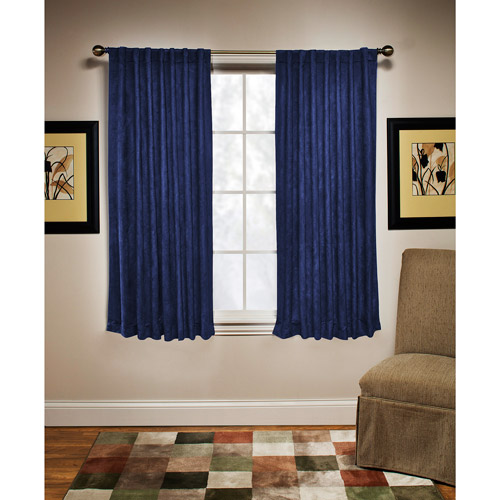 Blue White Striped Curtains