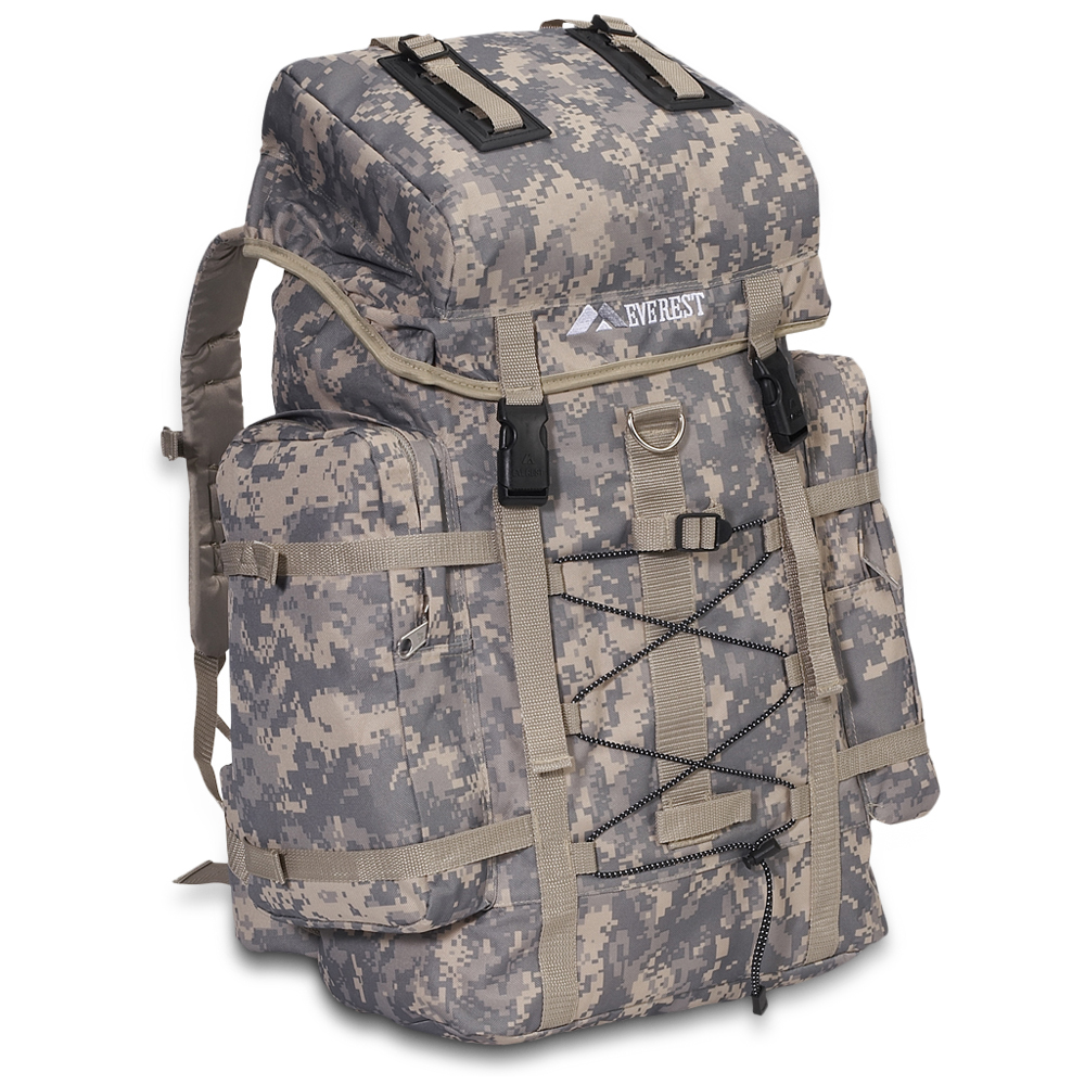 Digital Camo Hiking Pack