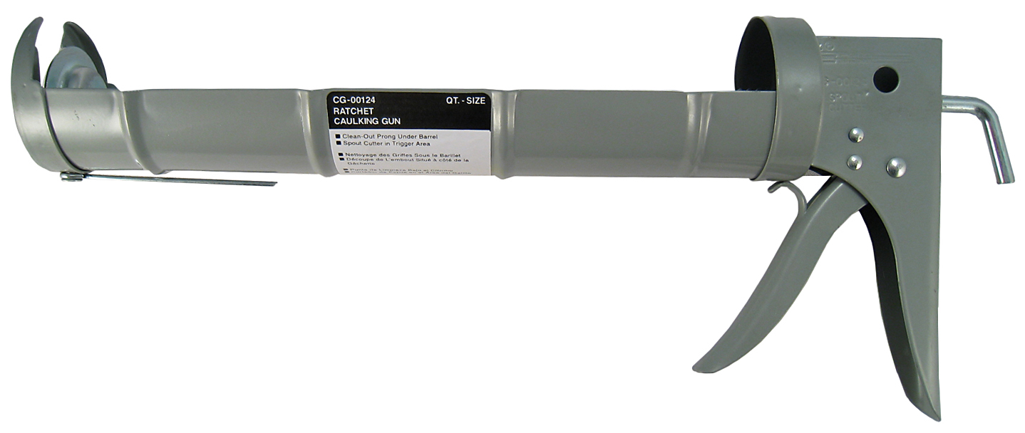 Gam CG00124 Ratchet Caulking Gun by Great American Marketing