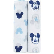 ideal baby by the makers of aden + anais Disney Mickey Swaddle, Pack of 2
